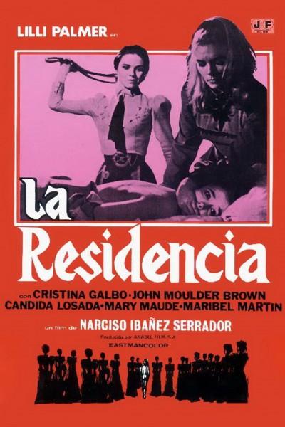 Caratula, cartel, poster o portada de La residencia