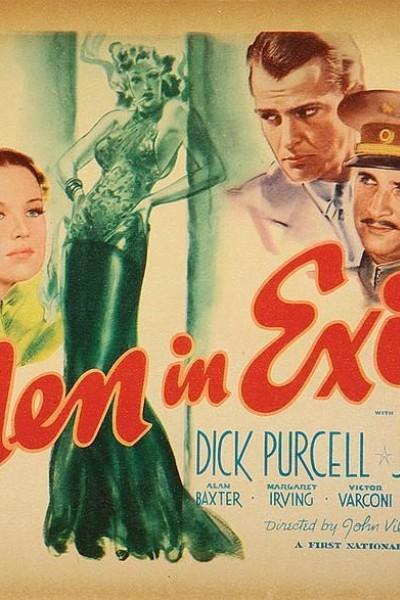 Caratula, cartel, poster o portada de Men in Exile