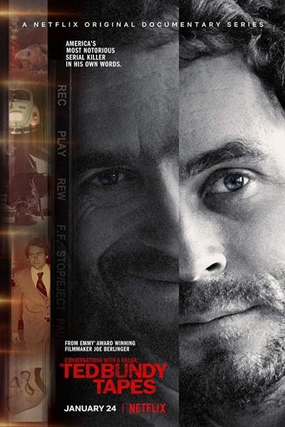Caratula, cartel, poster o portada de Conversaciones con asesinos: Las cintas de Ted Bundy