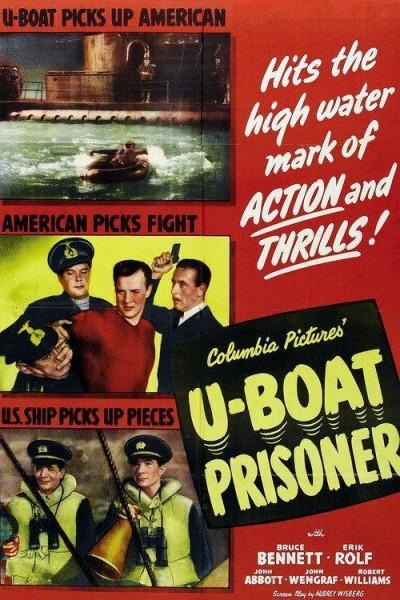 Caratula, cartel, poster o portada de U-Boat Prisoner
