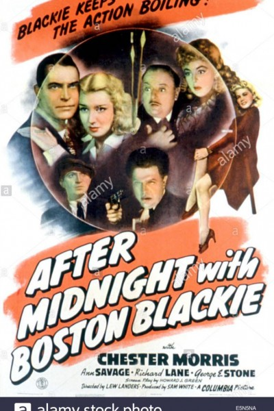 Caratula, cartel, poster o portada de After Midnight with Boston Blackie