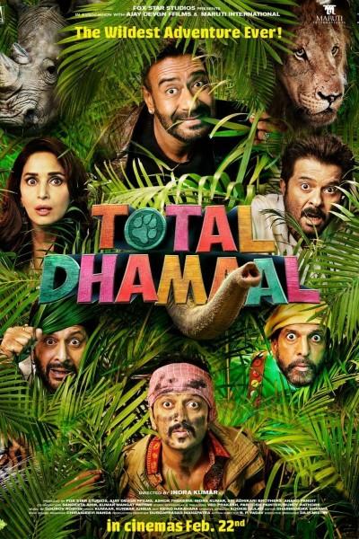 Caratula, cartel, poster o portada de Total Dhamaal