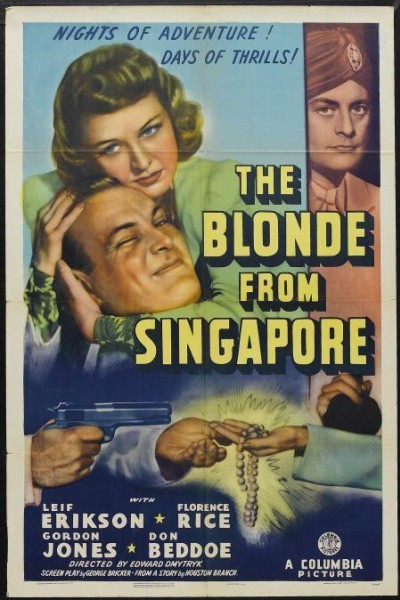 Caratula, cartel, poster o portada de The Blonde from Singapore
