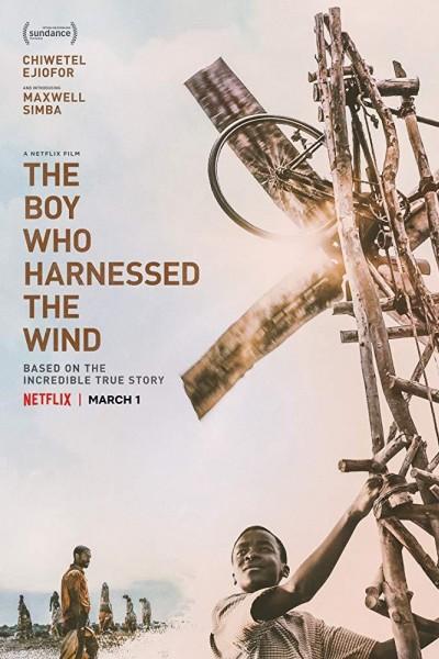 Caratula, cartel, poster o portada de El niño que domó el viento