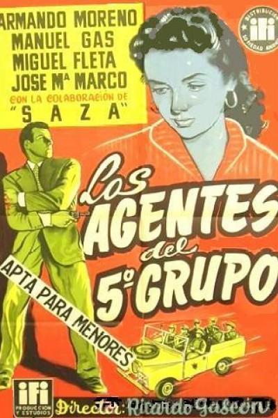 Caratula, cartel, poster o portada de Los agentes del quinto grupo