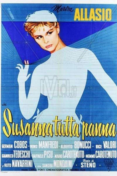 Caratula, cartel, poster o portada de Susana, pura nata