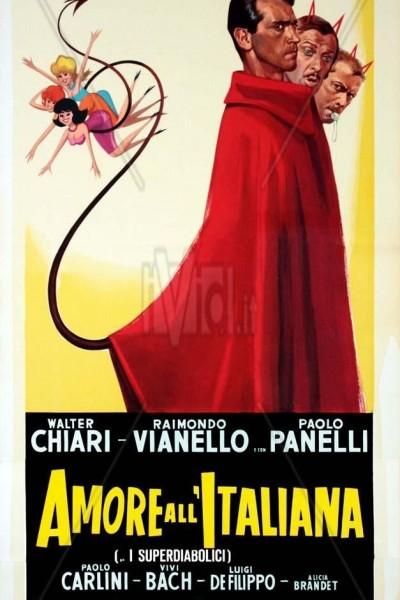 Caratula, cartel, poster o portada de Amore all\'italiana