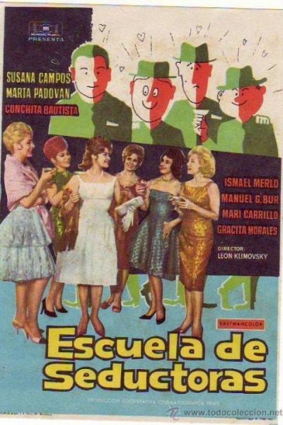 Caratula, cartel, poster o portada de Escuela de seductoras