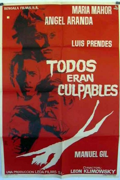 Caratula, cartel, poster o portada de Todos eran culpables