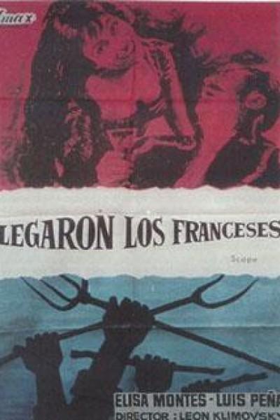 Caratula, cartel, poster o portada de Llegaron los franceses