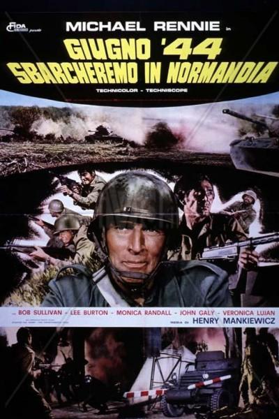 Caratula, cartel, poster o portada de Junio 44: desembarcaremos en Normandía