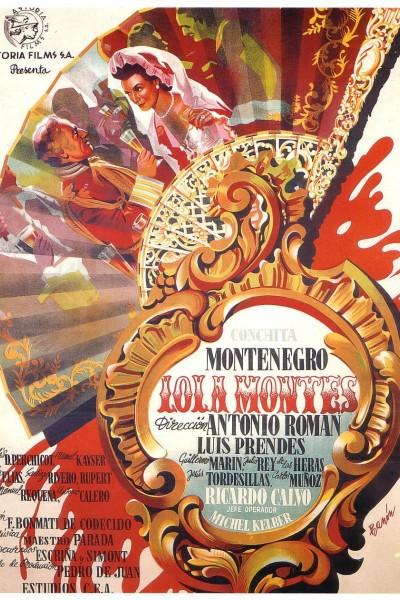 Caratula, cartel, poster o portada de Lola Montes