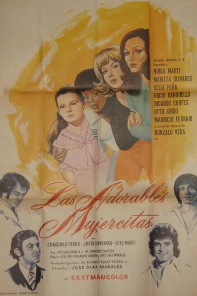 Caratula, cartel, poster o portada de Las adorables mujercitas