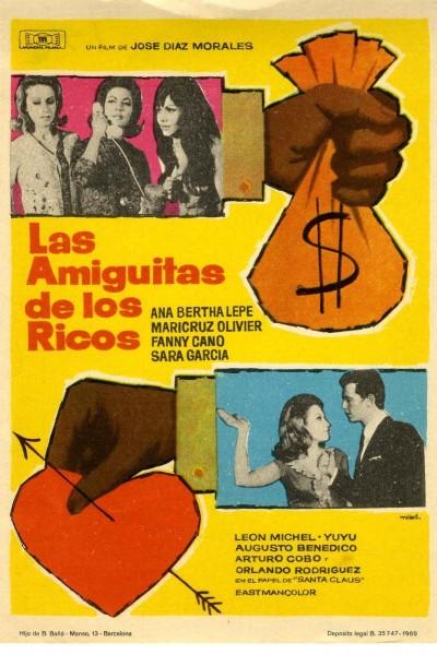 Caratula, cartel, poster o portada de Las amiguitas de los ricos