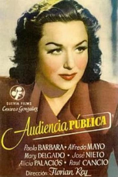 Caratula, cartel, poster o portada de Audiencia pública
