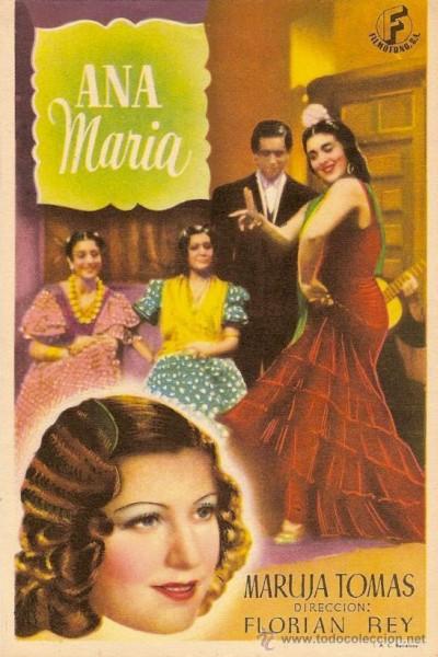 Caratula, cartel, poster o portada de Ana María