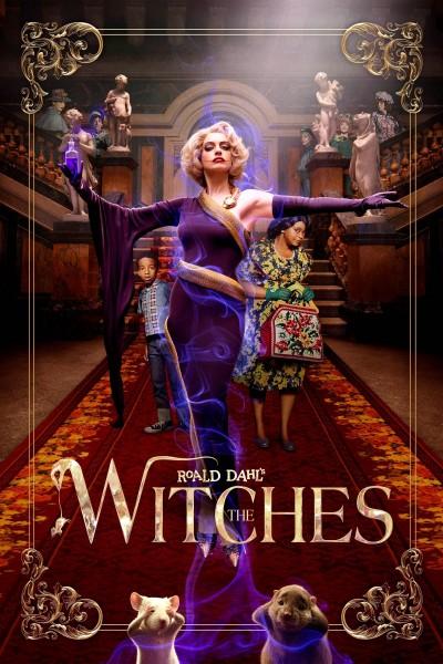 Caratula, cartel, poster o portada de Las Brujas (de Roald Dahl)