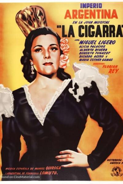 Caratula, cartel, poster o portada de La cigarra