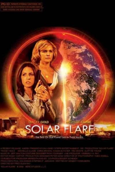 Caratula, cartel, poster o portada de Llamarada solar
