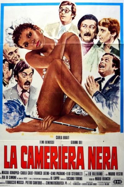 Caratula, cartel, poster o portada de La camarera negra