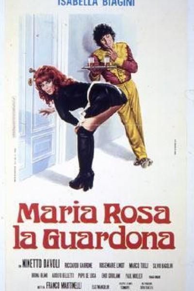 Caratula, cartel, poster o portada de María Rosa la mirona