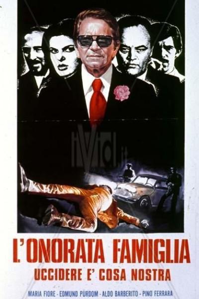 Caratula, cartel, poster o portada de La honorable familia