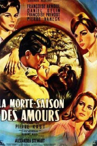 Caratula, cartel, poster o portada de La morte-saison des amours