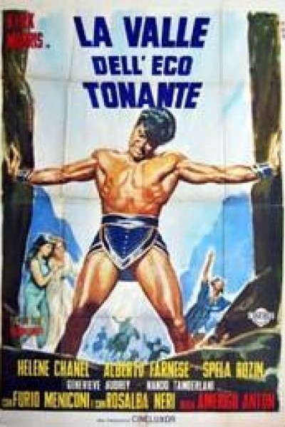 Caratula, cartel, poster o portada de El Valle del Eco Tonante