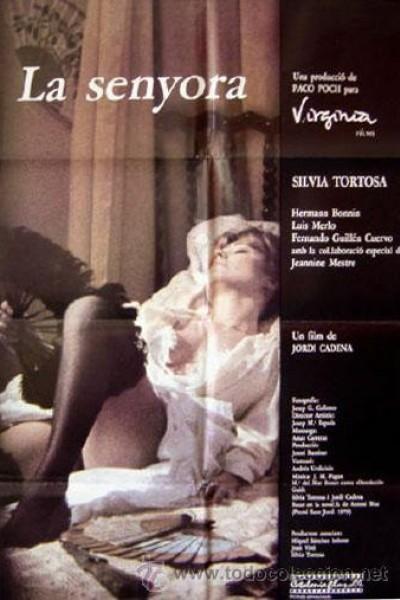 Caratula, cartel, poster o portada de La señora