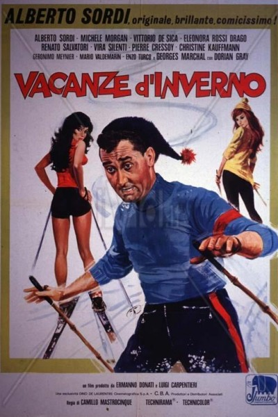 Caratula, cartel, poster o portada de Vacaciones en Cortina D\'Ampezzo