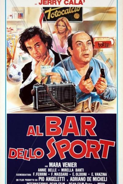 Caratula, cartel, poster o portada de Al bar dello sport