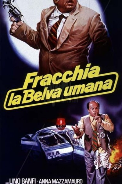 Caratula, cartel, poster o portada de Fracchia la belva umana
