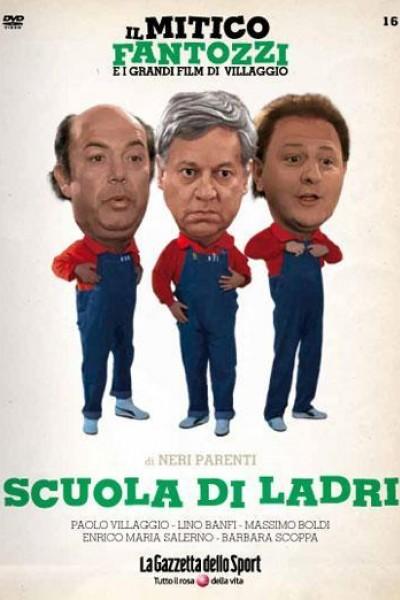 Caratula, cartel, poster o portada de Escuela de ladrones