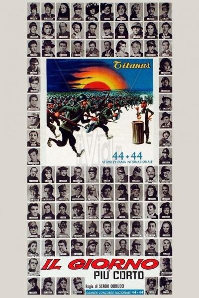 Caratula, cartel, poster o portada de El día más corto