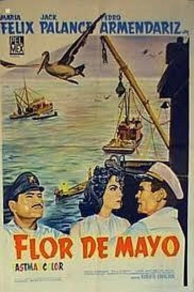 Caratula, cartel, poster o portada de Flor de mayo