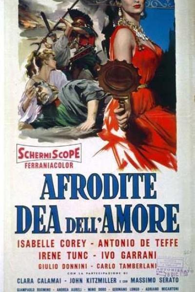 Caratula, cartel, poster o portada de Afrodita, diosa del amor