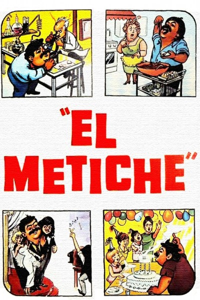 Caratula, cartel, poster o portada de El metiche