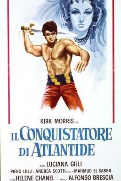 Caratula, cartel, poster o portada de El conquistador de la Atlántida
