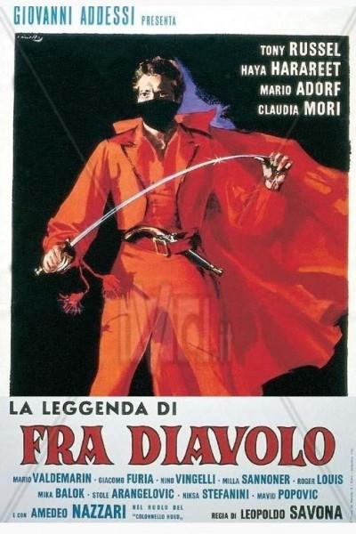 Caratula, cartel, poster o portada de La leggenda di Fra Diavolo