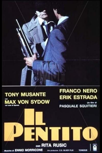 Caratula, cartel, poster o portada de Il pentito