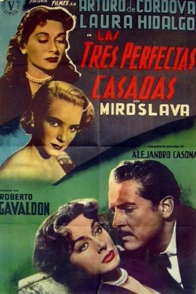 Caratula, cartel, poster o portada de Las tres perfectas casadas