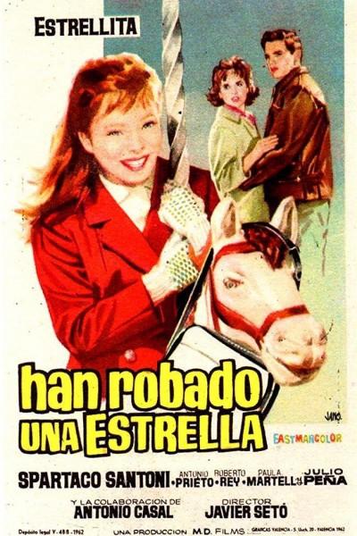 Caratula, cartel, poster o portada de Han robado una estrella