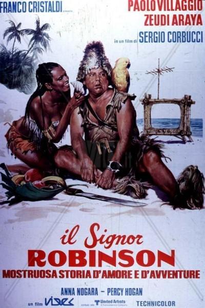 Caratula, cartel, poster o portada de Il signor Robinson, mostruosa storia d\'amore e d\'avventure
