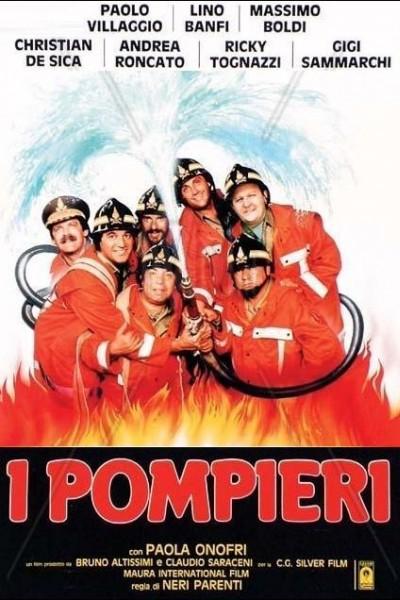 Caratula, cartel, poster o portada de I pompieri