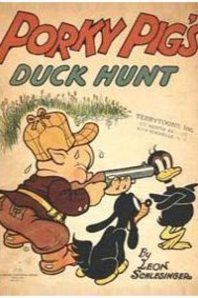 Caratula, cartel, poster o portada de Porky\'s Duck Hunt