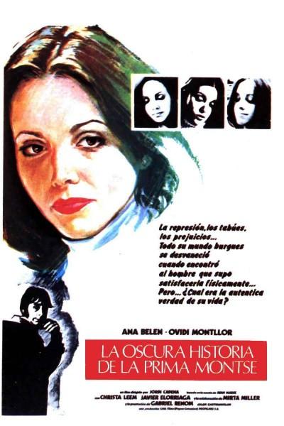 Caratula, cartel, poster o portada de La oscura historia de la prima Montse