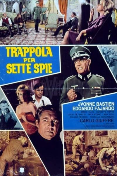Caratula, cartel, poster o portada de Siete espías en la trampa