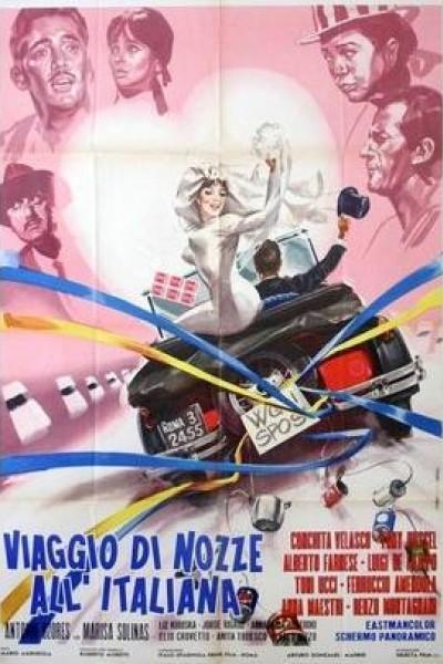 Caratula, cartel, poster o portada de Viaje de novios a la italiana