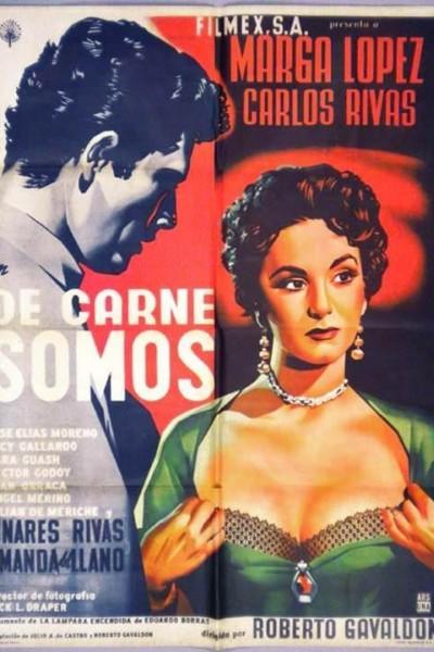 Caratula, cartel, poster o portada de De carne somos