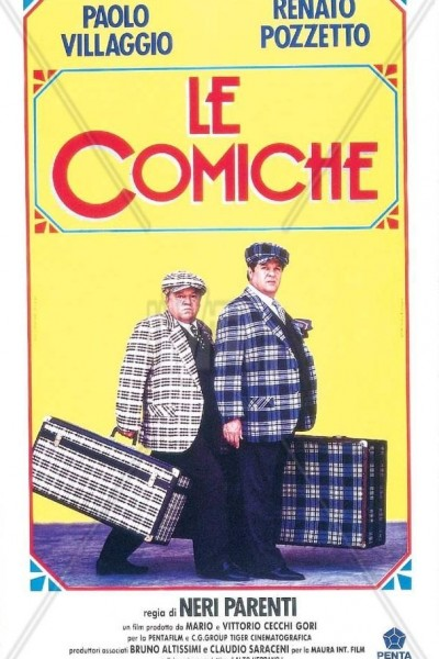 Caratula, cartel, poster o portada de Le comiche